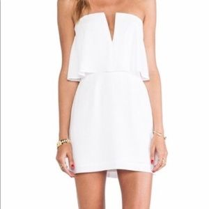 BCBG strapless mini dress